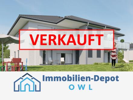 Modern, effizient, sparsam: Nagelneue ETW in Hiddenhausen