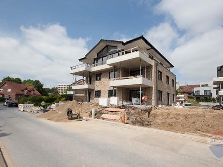 Hochwertige Neubau Eigentumswohnung mit Blick aufs Iburger Schloss.