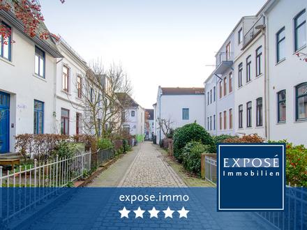 Exklusive Maisonette-WHG mit Balkon in ruhiger Seitenstraße!