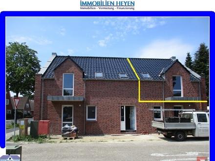 !!!Oberwohnung mit Balkon (KfW-55)!!!Neubau-Erstbezug!!!Papenburg-Untenende!!!