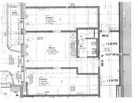 2-3 Zimmer-Wohnung