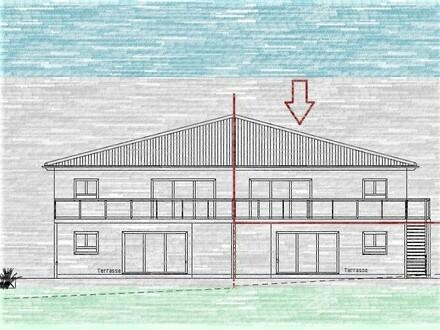 Kirchlengern Neubauprojekt - komfortable 4 Zi. Obergeschoss-Wohnung - mit Balkon in einer DHH
