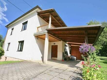 Klagenfurt- Viktring: Häuschen mit kleinem Garten