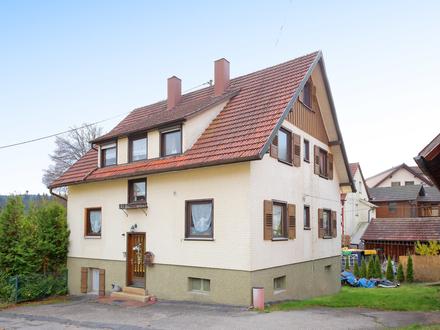 Familienschatz: Modernisiertes Ein-/ Zweifamilienhaus mit Scheune und großem Grundstück