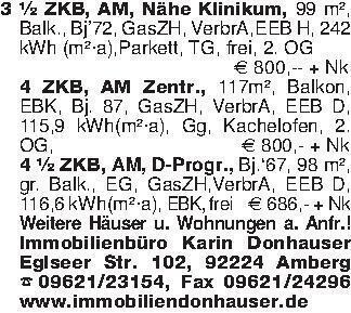 3 ½ ZKB, AM, Nähe Klinikum, 99...