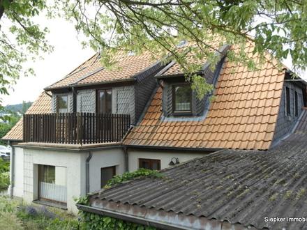 Gepflegtes Fachwerkhaus mit vermieteter Einliegerwohnung in Wittmar