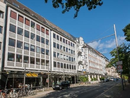 Gut sichtbare und renommierte Handelsfläche am Bremer Wall