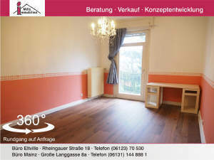 Charmante Altbauwohnung mit Balkon und zusätzlichem Appartement in hübschen 3-Parteienhaus