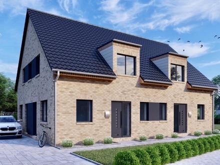 Provisionsfrei & Schlüsselfertig ** Hochwertige Neubau-Doppelhaushälfte in beliebter Lage **