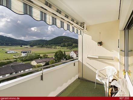 Preisreduzierung - Aussicht in Wurmlingen - Tolle Wohnung mit Balkon am Ortsrand