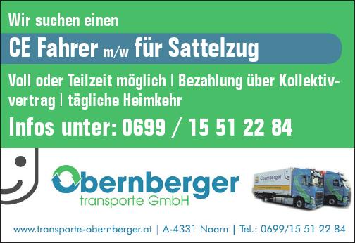 Wir suchen einen CE Fahrer m/w für Sattelzug Voll oder Teilzeit möglich