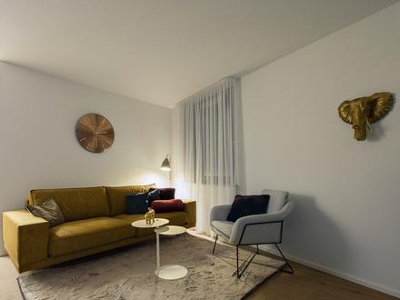 Hochwertige 3- Zimmerwohnung mit Gartenanteil