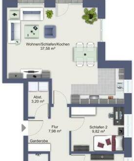 Moderne Obergeschosswohnung in Vechta-Oythe sucht neuen Eigentümer - auch für Kapitalanleger interessant!