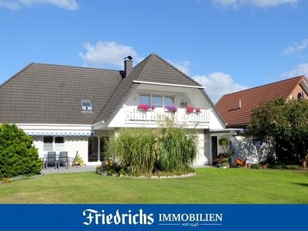 Großzügige Erdgeschosswohnung mit Carport und Gartengrundstück in Edewecht - zentrale Lage