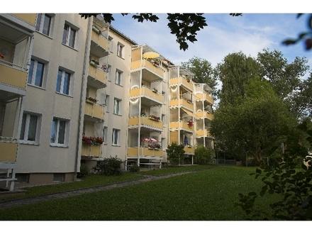 3-Raum Wohnung mit Balkon und Kammer