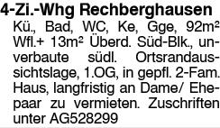 4 Zi.Whg Rechberghausen