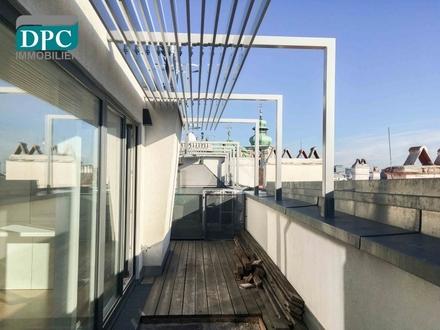 DPC | Dachgeschoss Maisonette mit Terrasse Nähe Burgtheater