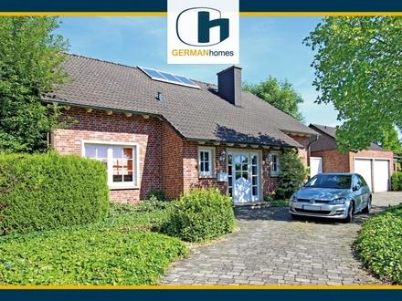 PROVISIONSFREI für Käufer – Einfamilienhaus mit Außenpool u. großem Garten in Feldrandlage von Ahlen