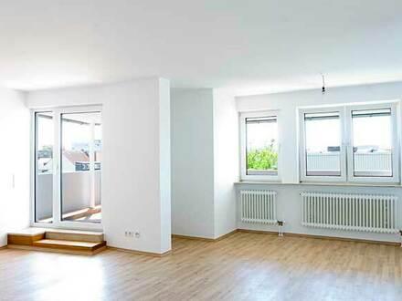 Maisonette-Wohnung mit Terrasse in Innenstadtlage