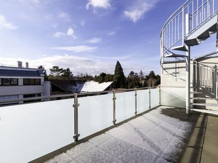 Großzügige Dachgeschoßwohnung (belagsfertig) mit eigener Dachterrasse!