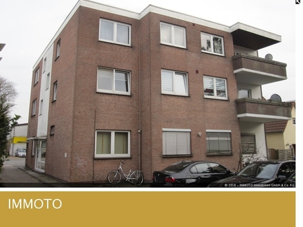 Gemütliche 3 Zimmer Obergeschosswohnung mit Balkon in Oldenburg zu vermieten!