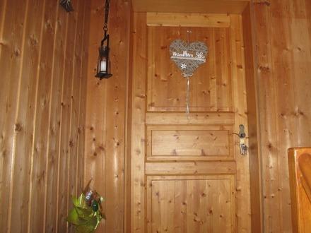 Eingang Holz