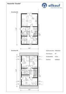 Durchdachte Raumaufteilung - Double4