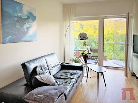 Vermietete helle Wohnung in ruhiger Sonnenlage