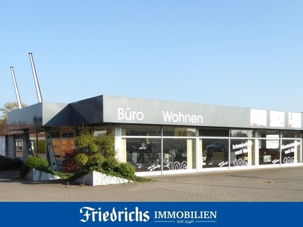 Ausstellungs- u. Verkaufsfl. mit großer Schaufensterfront in Bad Zwischenahn- gut frequentierte Lage