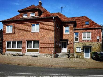 Verkauf eines Wohn- und Geschäftshauses - in zentraler Lage von Helpsen