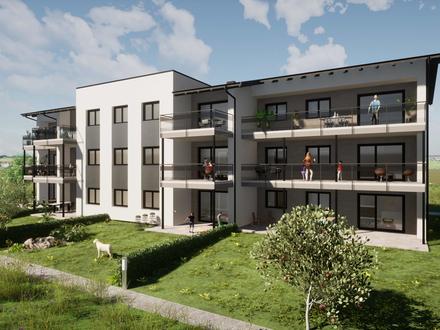 Bauvorhaben nördlich von OBERNDORF familienfreundliche 4 Zimmer-Gartenwohnung