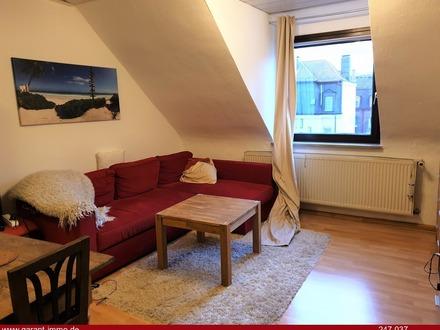 Schön geschnittene 3 Zimmer-Dachgeschosswohnung mit Balkon im Herzen von Nürnberg *TOP Lage*