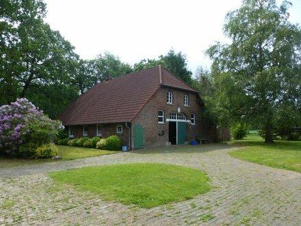 Bauernhaus am Stadtrand von Oldenburg