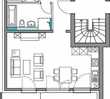Gut geschnittene 3-Zimmer-EG-Wohnung mit Terrasse in Planung, Stuttgart-Rohracker