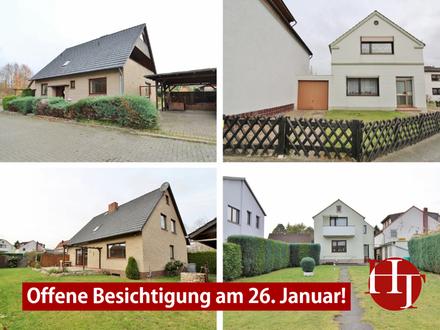 Offene Besichtigung am 26.1.! Zwei Immobilien – ein Grundstück – diverse Möglichkeiten!