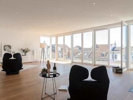 Einmalige, exklusive Penthouse-Maisonette-Wohnung in einer stilvollen Altbremer-Stadtvilla