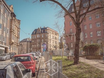Wohnung mit Stellplatz + Ladenfläche im Heusteigviertel