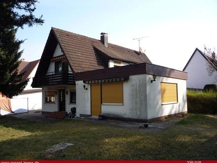 Gepflegtes Einfamilienhaus in Erlangen-Bruck