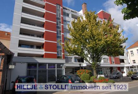 Citynahe 2 ZKB Wohnung mit 2 Balkonen in unmittelbarer Nähe zum Hafen!