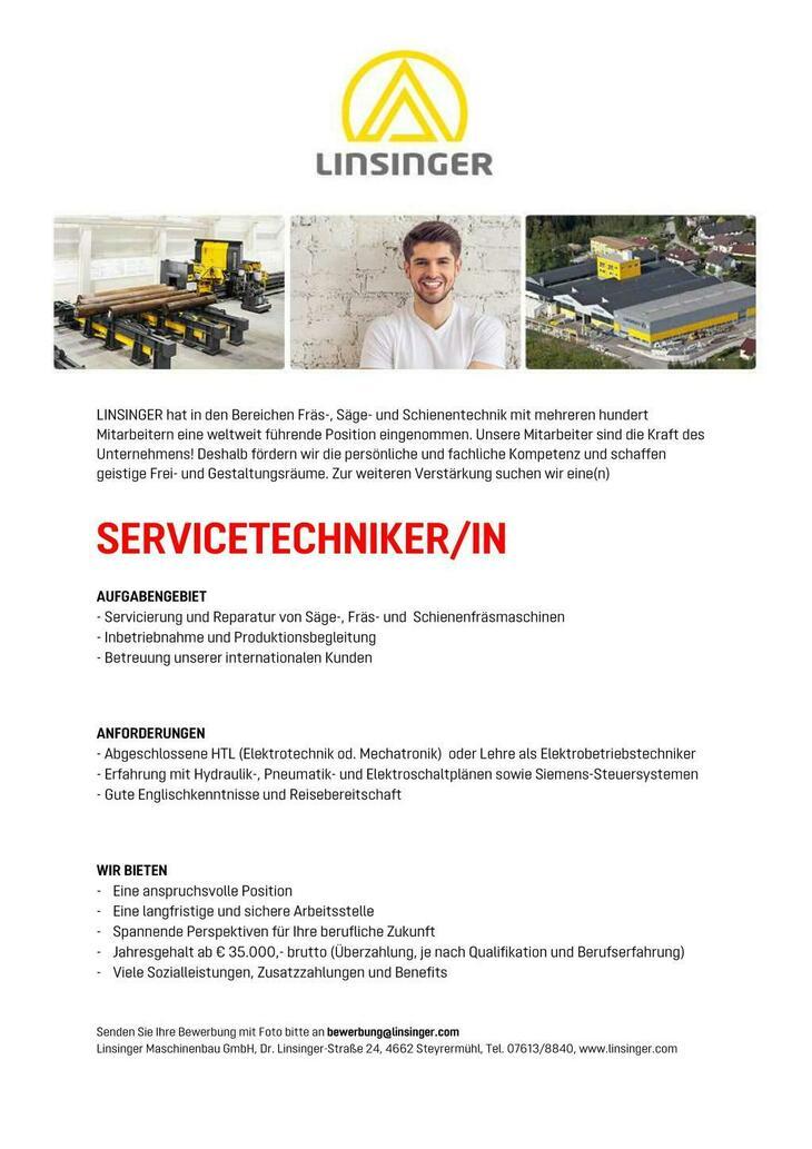 - Servicierung und Reparatur von Säge-, Fräs- und Schienenfräsmaschinen - Inbetriebnahme und Produktionsbegleitung - Betreuung unserer internationalen Kunden
