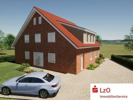 Neubau eines Vierfamilienhauses - KfW-55-Standard