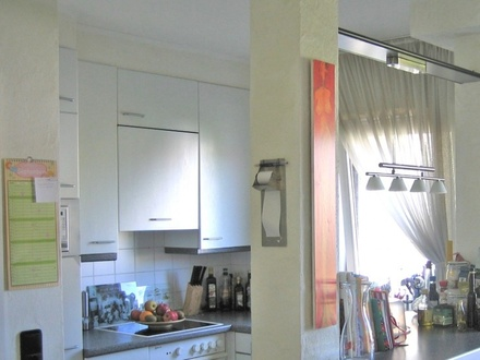 Gemütliche Singlewohnung mit Einbauküche und Balkon in Nieder-Ramstadt