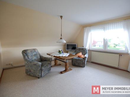Zentral gelegene DG-Wohnung in Rastede (Objekt-Nr.: 5755)