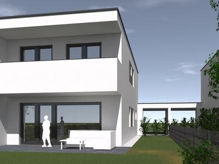 Doppelhaushälfte Top 02 in Pasching – top Architektur, hervorragende Qualität, geniales Grundstück, schlüsselfertig, provisionsfrei