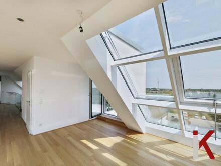 Penthouse mit moderner Architektur