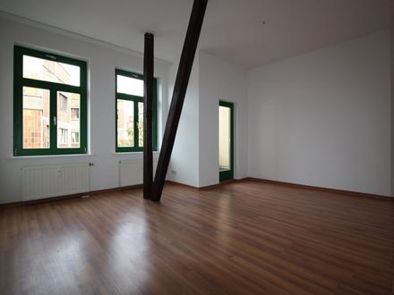 2,5-Raumwohnung+++60qm+++Innenstadt+++2 kleine Balkone