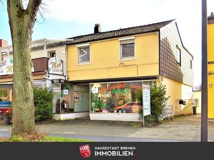 Kapitalanlage: Horn-Lehe / Zweifamilienhaus mit Gewerbeeinheit in begehrter Lage