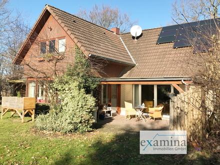 Schönes geräumiges Einfamilienhaus mit Solarthermie! Entspannen Sie im WiGa mit Blick ins Grüne!