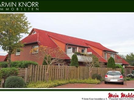 ETW - 3-Zimmer-Wohnung im 1.OG mit Balkon & Carport in Wardenburg/ LK Oldenburg