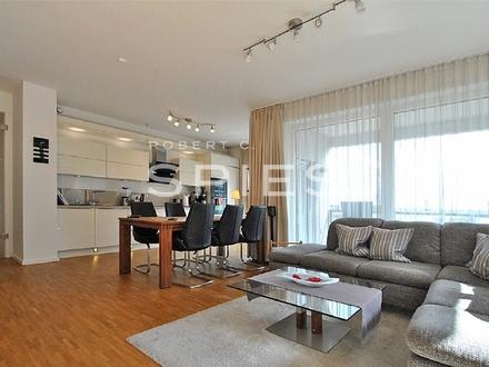 Exklusiv Wohnen: Traumhafte 3,5-Zimmer-Whg. mit großzügigem Balkon und Blick auf die kleine Weser